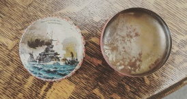 Small German Tin Early 20th C