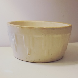 Ruckel's 1930s Art Deco Butter Crock